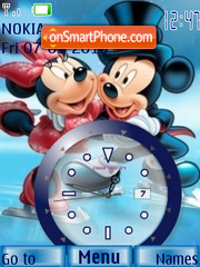 Let s Dance Clock theme screenshot