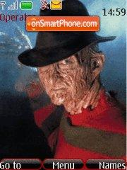 Freddy Krueger theme screenshot