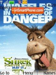 Shrek Forever After es el tema de pantalla