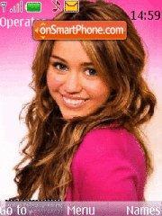 Miley Cyrus 09 es el tema de pantalla