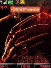 A Nightmare On Elm Street theme screenshot