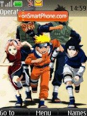 Naruto 2006 tema screenshot