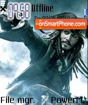 Jack Sparrow 07 theme screenshot