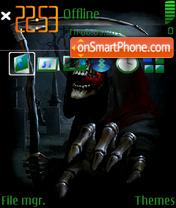Скриншот темы Death 06