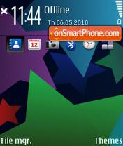 Colorfull Stars. theme screenshot