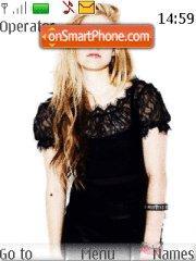 Avril Lavigne Theme-Screenshot