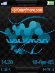 Ice walkmen es el tema de pantalla