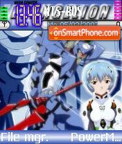 Evangelion theme screenshot