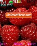Raspberries tema screenshot