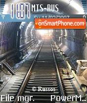 The Underground v22 es el tema de pantalla