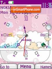 Sheepo Clock theme screenshot