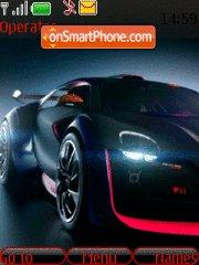 Concept Cars Citroen theme screenshot