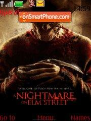 A Nightmare On Elm Street 01 theme screenshot