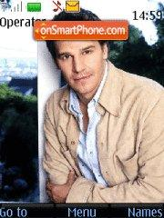 David Boreanaz 01 theme screenshot