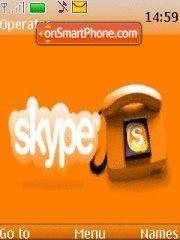 Skype Theme-Screenshot