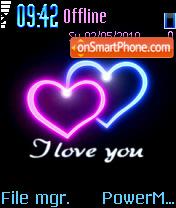 I Love You 25 es el tema de pantalla