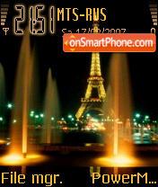 De Paris es el tema de pantalla
