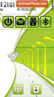 Greenway 01 theme screenshot