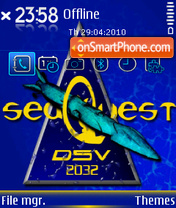 Seaquest DSV 2032 theme screenshot