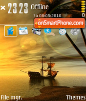 Dream nature v1 240 tema screenshot