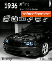 Bmw M3 07 theme screenshot