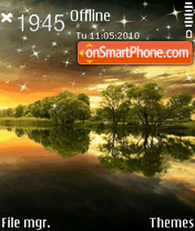 Beautiful Nature tema screenshot