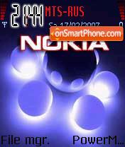Neon NOKIA theme screenshot