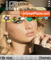 Taylor Swift theme screenshot