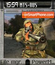 G Stalker PDA es el tema de pantalla