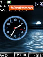 Bahia de noche theme screenshot