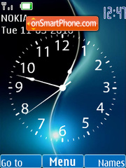 Flash Clock theme screenshot