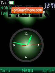 Hulk SWF Clock theme screenshot