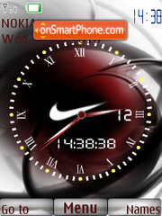 Nike espectacular theme screenshot