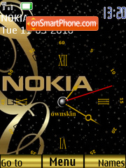 Nokia Premier theme screenshot