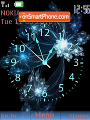 Nubes Clock theme screenshot
