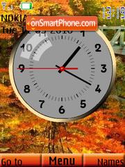 Estacion Clock es el tema de pantalla