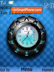 Super Star Clock es el tema de pantalla