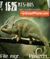 Chameleon theme screenshot