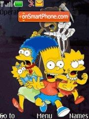 The Simpson theme screenshot