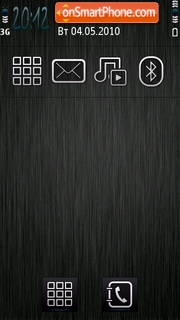 Fibre tema screenshot