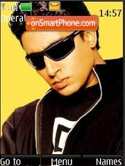 Скриншот темы Abhishek Bachchan
