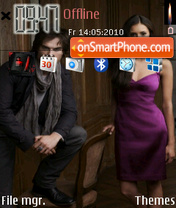 Vampire diaries tema screenshot