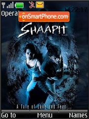 Shaapit (Bollywood) theme screenshot