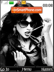 Genelia D'Souza (Bollywood) theme screenshot