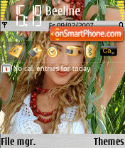 Tina Carol theme screenshot