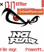 No Fear 02 tema screenshot