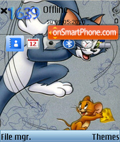 Tom And Jerry 12 theme screenshot