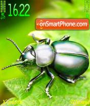 Green Bug theme screenshot
