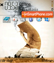 Smoking kills theme screenshot