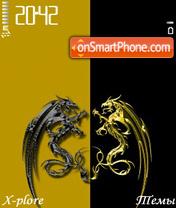 G&B Dragon theme screenshot